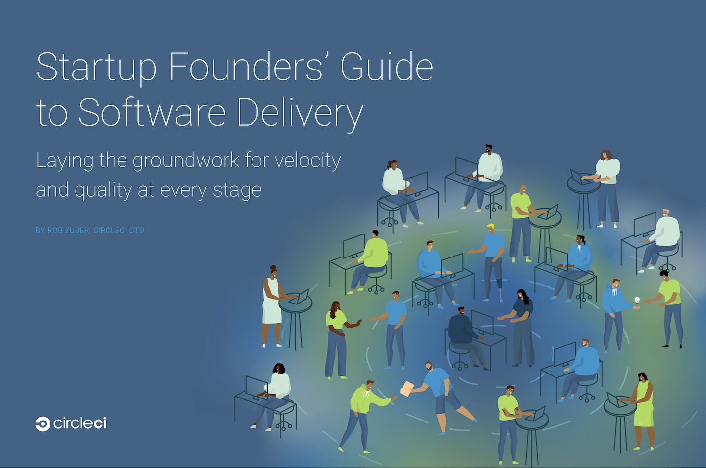 Cover of Startup Founder's Guide ebook